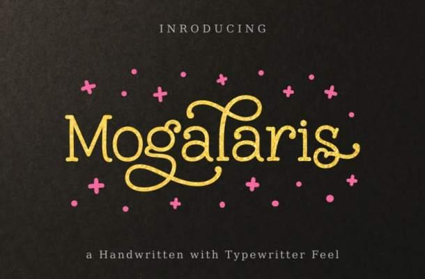 Mogalaris Slab Serif Font
