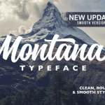 Montana Script Font