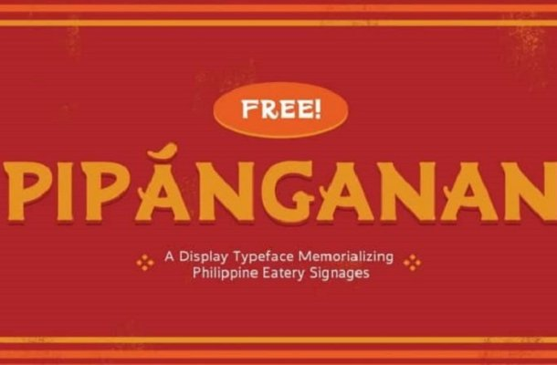 Pipánganan Display Font