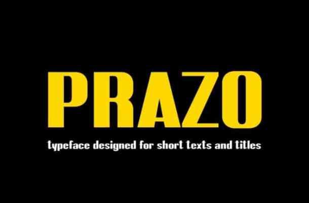 Prazo Sans Serif Font
