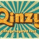 Qinzy Display Font