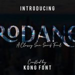 Rodano Display Font