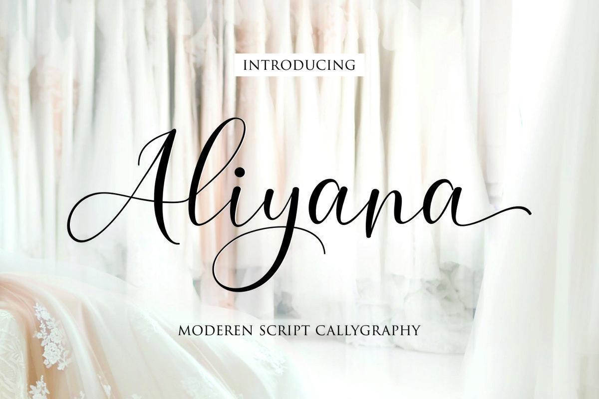 Aliyana-Font