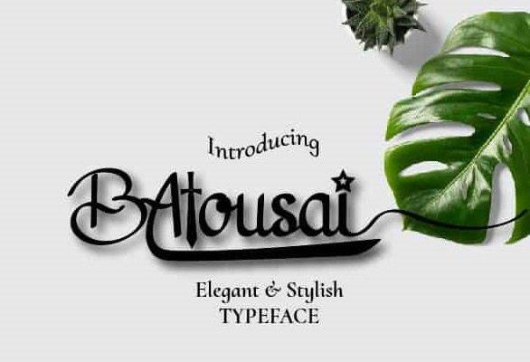 Batousai Font
