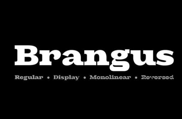 Brangus Sans Serif Font