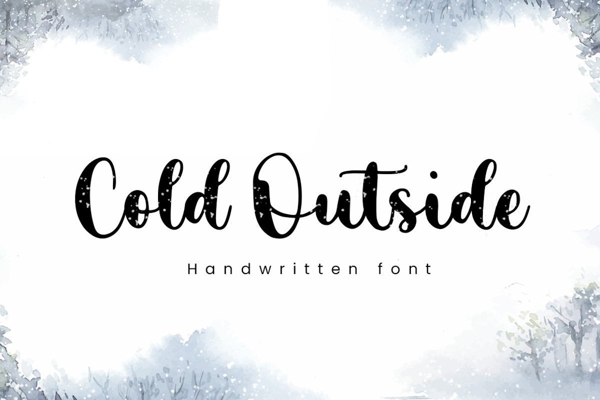 Cold-Outside-Font