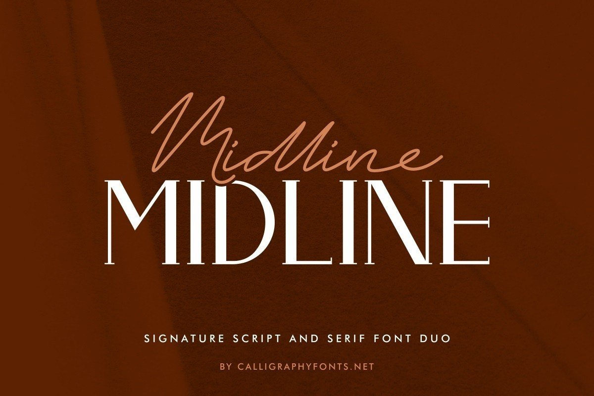 Midline-Font-Duo