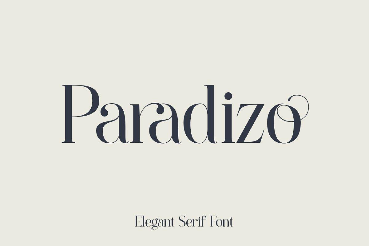 Paradizo-Font
