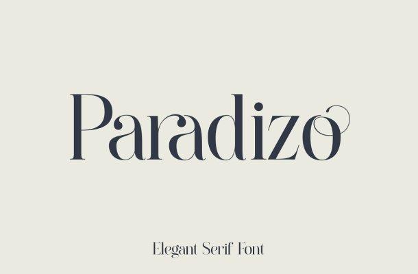 Paradizo Font