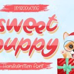 Sweet Puppy Display Font