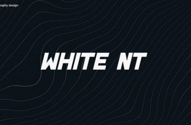 White NT Font