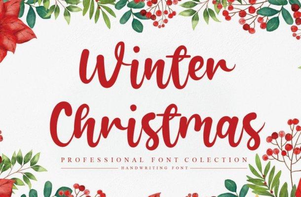 Winter Christmas Script Font