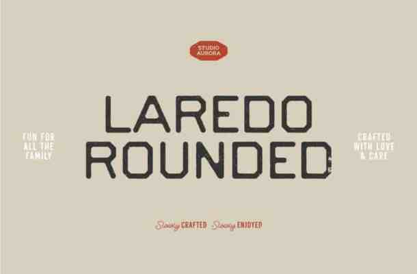 Laredo Display Font