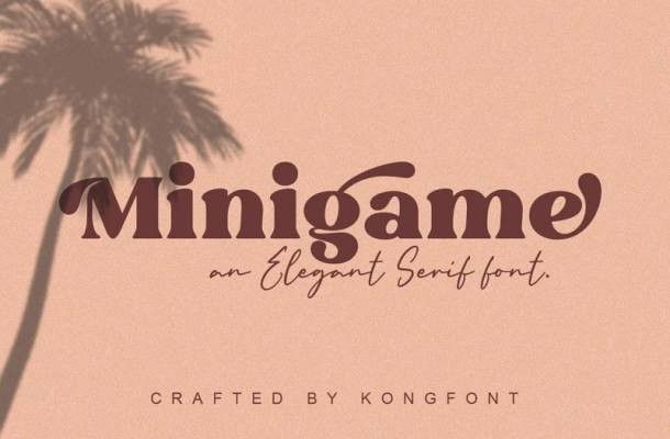 Minigame Font