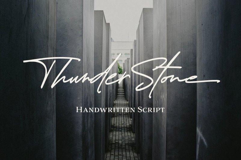 thunder-stone-font-4
