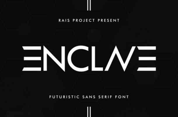 ENCLAVE Font