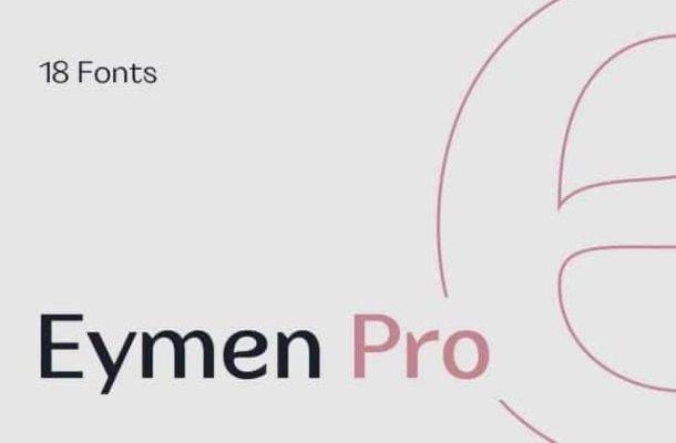 Eymen Pro Font