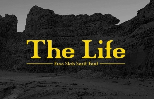 The-Life-Font-4