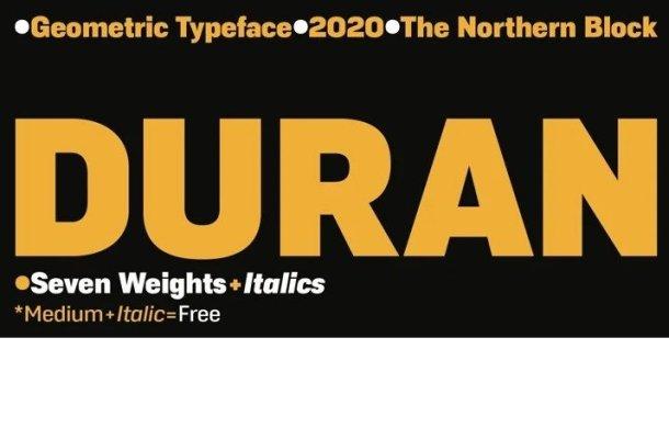 Duran Font