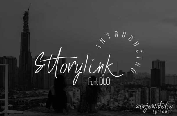 Sttoryink Font