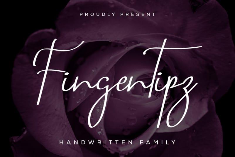 Fingertipz Handwriting Font