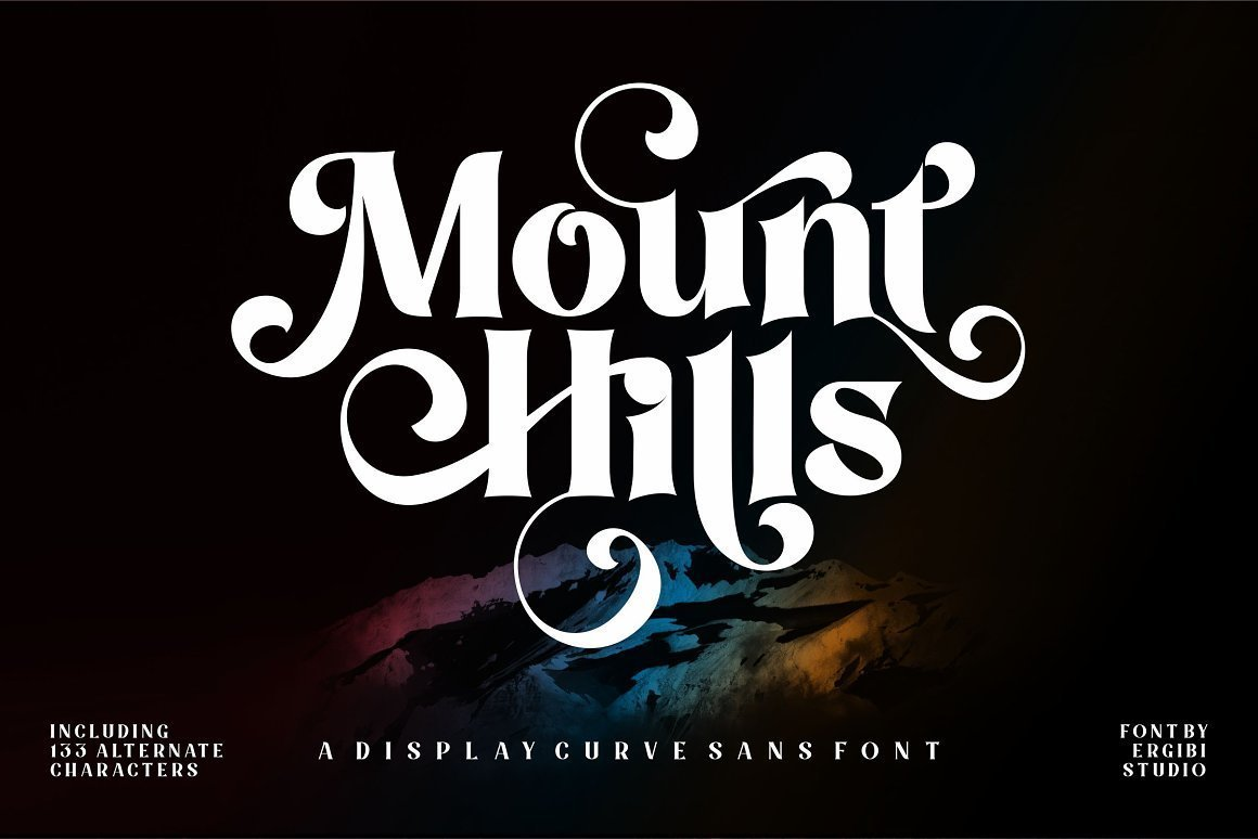 Mount-Hills-Font