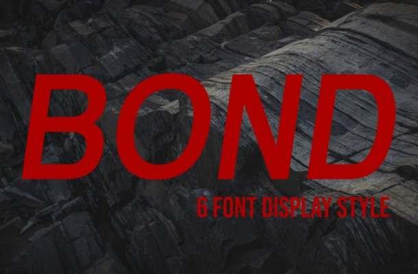 Bond Font