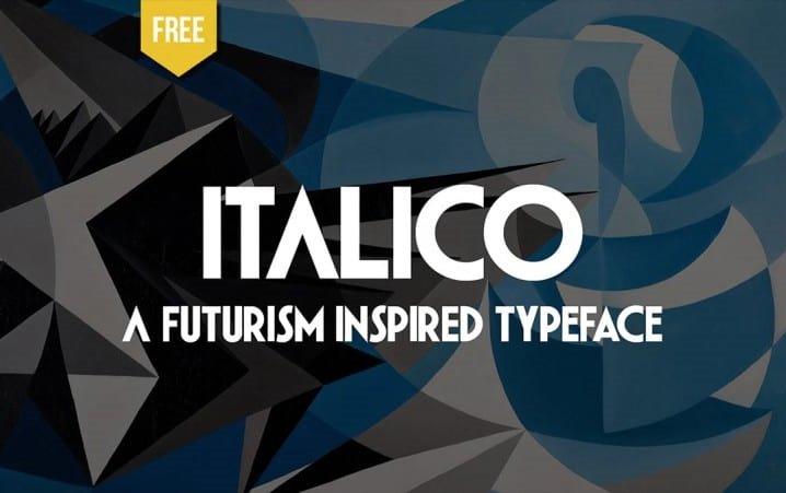 italico-sans-serif-font