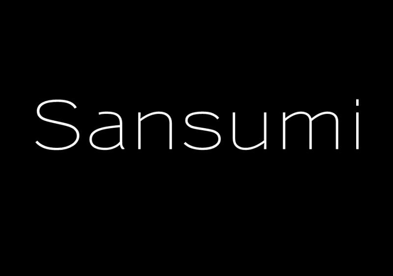 sansumi-sans-serif-font
