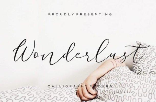 Wonderlust Font