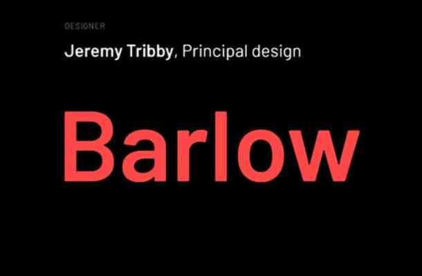 Barlow Font