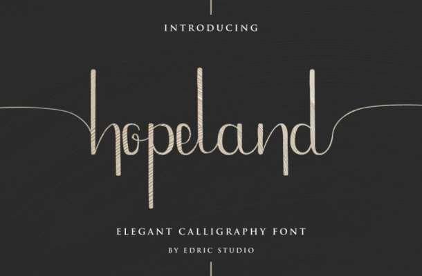 HopeLand Font