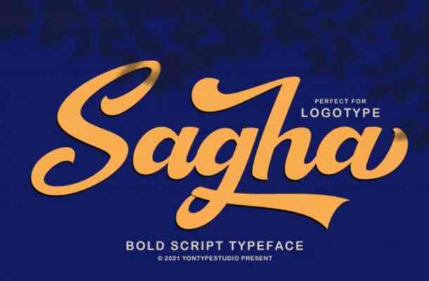 Sagha Font