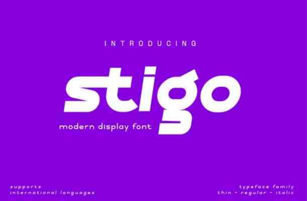 Stigo Font