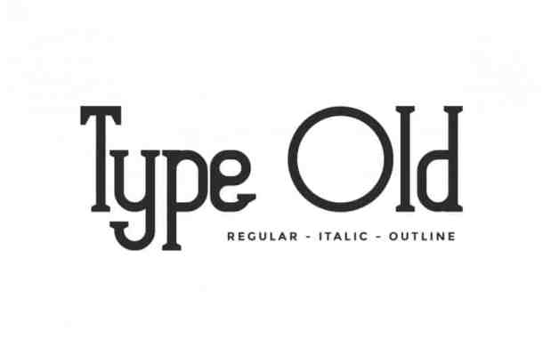 Type Old Font