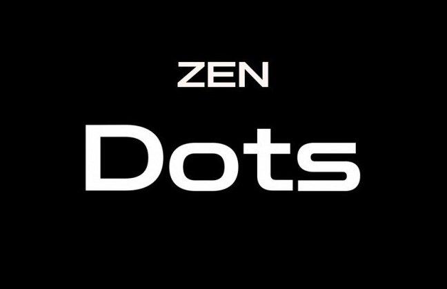 Zen-Dots-Font