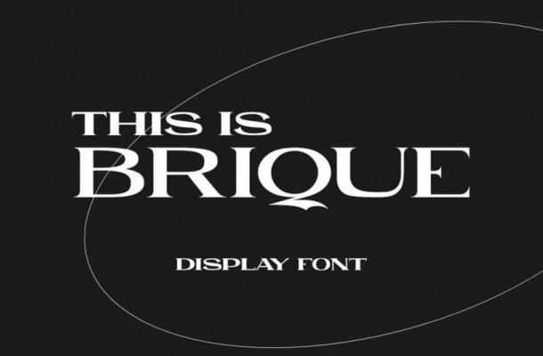 Brique Font