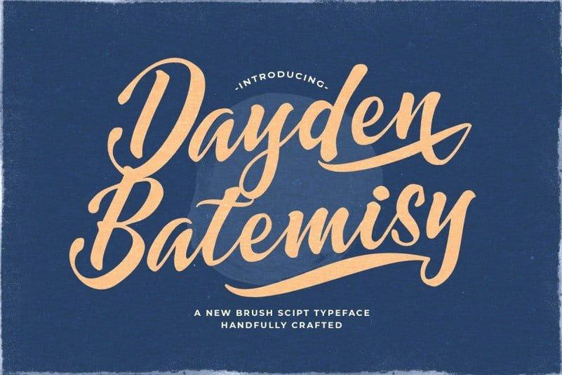 dayden-batemisy-font