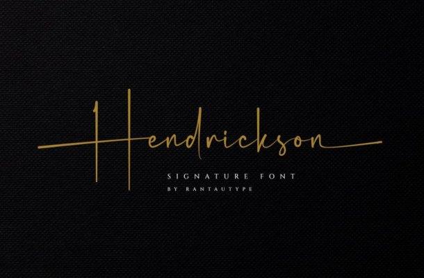 Hendrickson Font