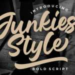 Junkies Style Font