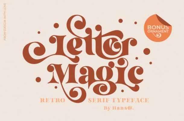 Letter Magic Font