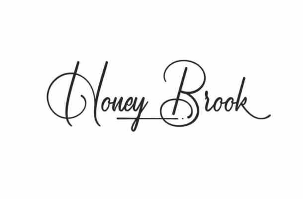Honey Brook Signature Font