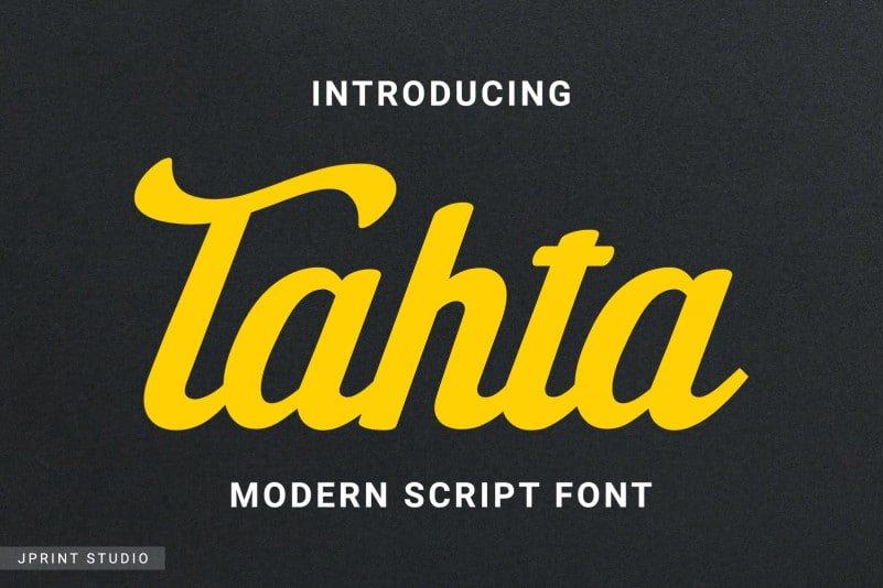 Tahta-Font