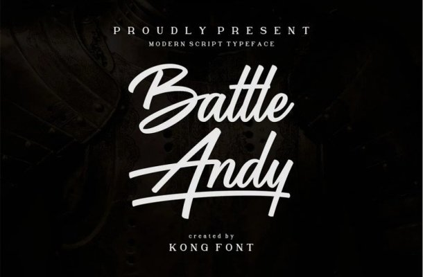 Battle Andy Font