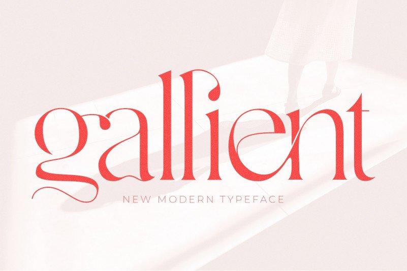 gallient-font