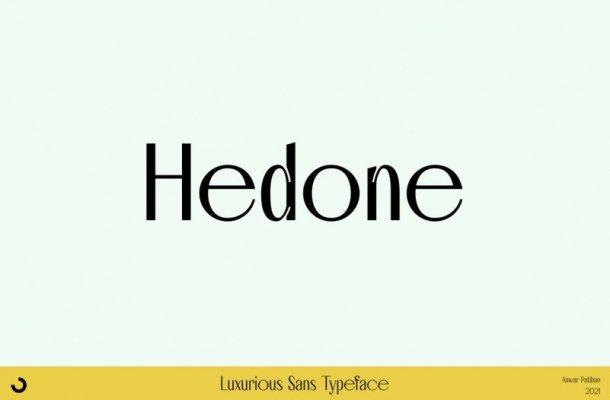 Hedone Font