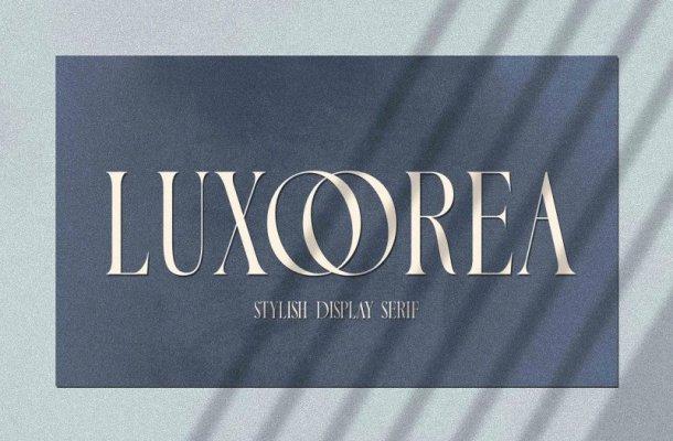 Luxoorea Font