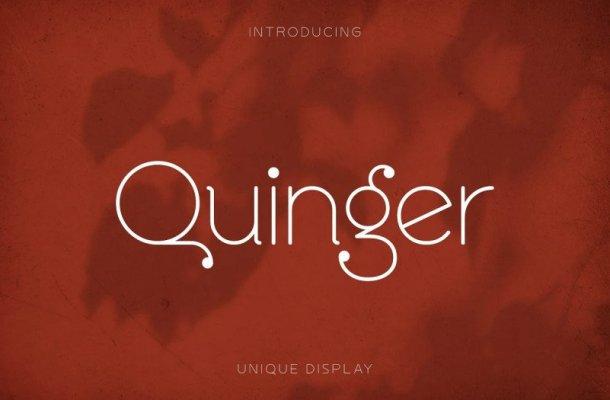 Quinger Font