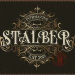 Stalber Font