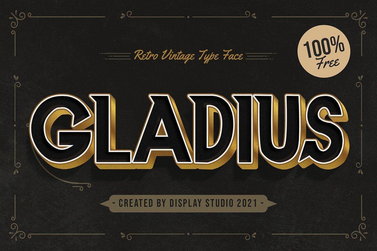 Gladius-Font